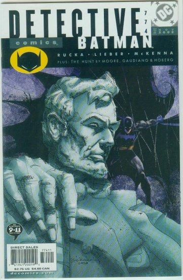 DETECTIVE COMICS #774 (2002)