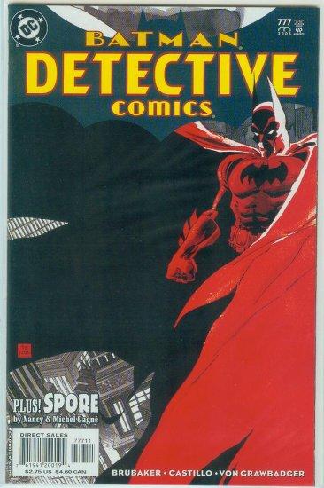 DETECTIVE COMICS #777 (2003)