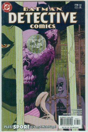 DETECTIVE COMICS #778 (2003)