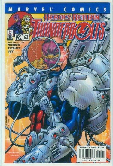 THUNDERBOLTS #62 (2002)