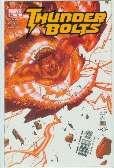 THUNDERBOLTS #74 (2003)