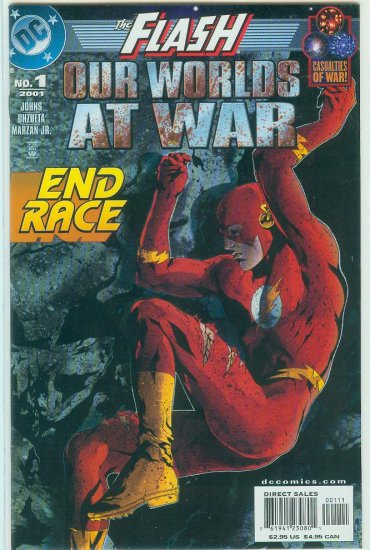 FLASH OUR WORLDS AT WAR  #1 (2001)
