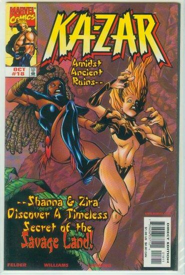 KA-ZAR #18 (1998)