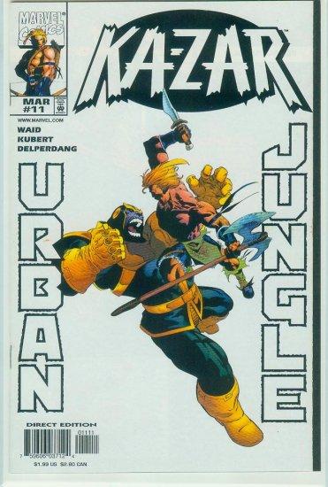 KA-ZAR #11 (1998)