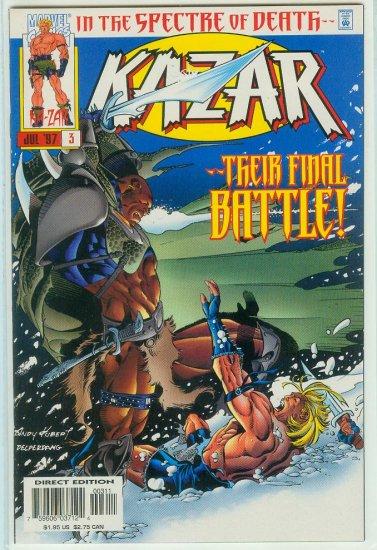 KA-ZAR #3 (1997)