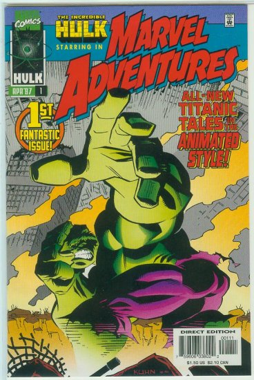 MARVEL ADVENTURES #1-4 (1997)
