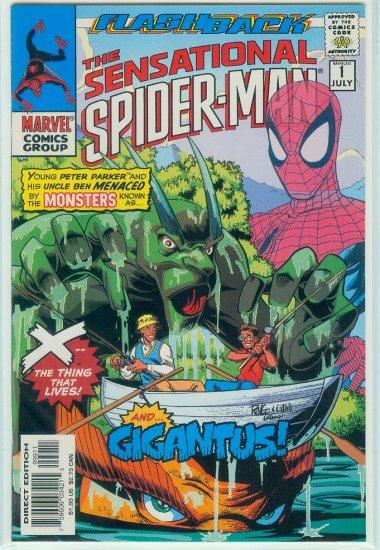 SENSATIONAL SPIDER-MAN MINUS 1 FLASHBACK (1997)