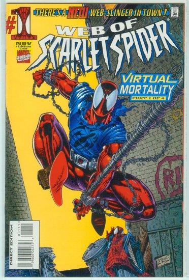 WEB OF SCARLET SPIDER #1 (1995)