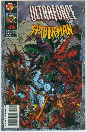 ULTRAFORCE/SPIDER-MAN #1A (1996)