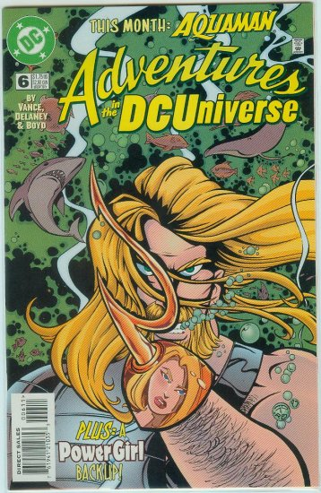 ADVENTURES IN THE DC UNIVERSE #6 (1997)
