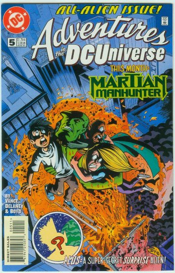 ADVENTURES IN THE DC UNIVERSE #5 (1997)