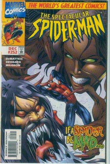 SPECTACULAR SPIDER-MAN #252 (1997)