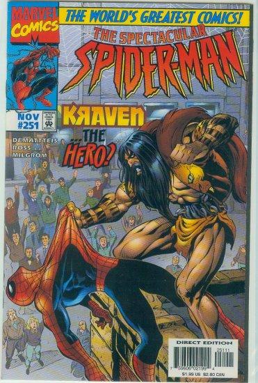 SPECTACULAR SPIDER-MAN #251 (1997)