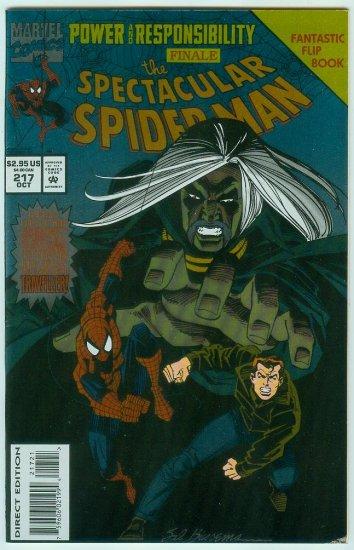 SPECTACULAR SPIDER-MAN #217 (1994)