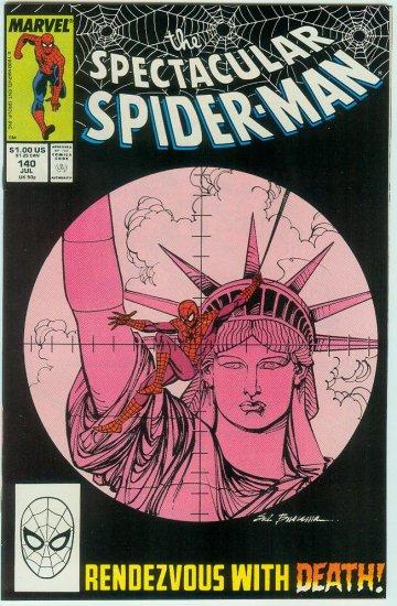 SPECTACULAR SPIDER-MAN #140 (1988)