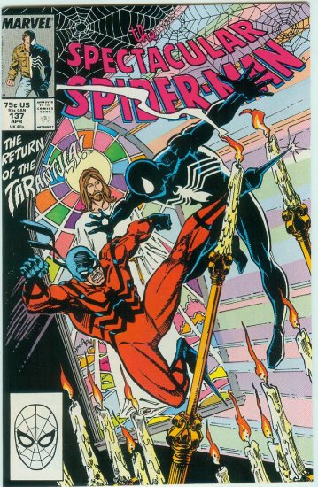 SPECTACULAR SPIDER-MAN #137 (1988)