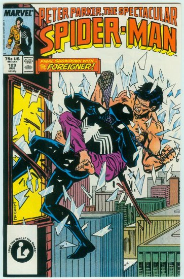 SPECTACULAR SPIDER-MAN #129 (1987)