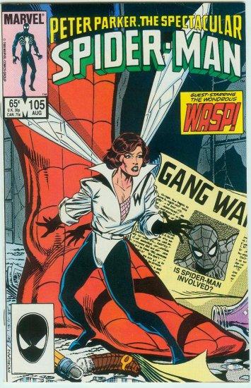 SPECTACULAR SPIDER-MAN #105 (1985)