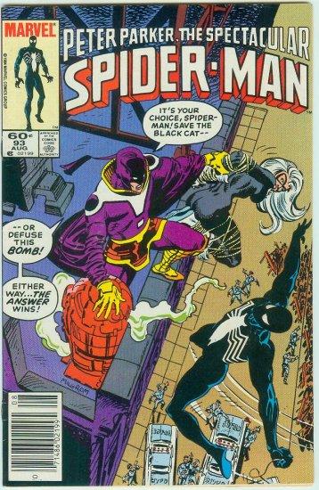 SPECTACULAR SPIDER-MAN #93 (1984)