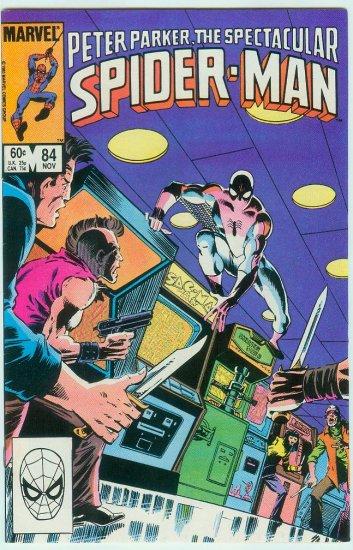 SPECTACULAR SPIDER-MAN #84 (1983)
