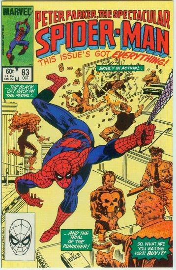 SPECTACULAR SPIDER-MAN #83 (1983)
