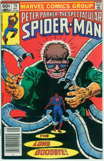 SPECTACULAR SPIDER-MAN #78 (1983)