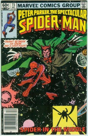SPECTACULAR SPIDER-MAN #73 (1982)