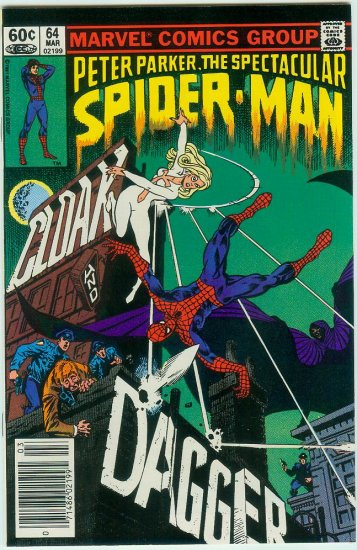 SPECTACULAR SPIDER-MAN #64 (1982)
