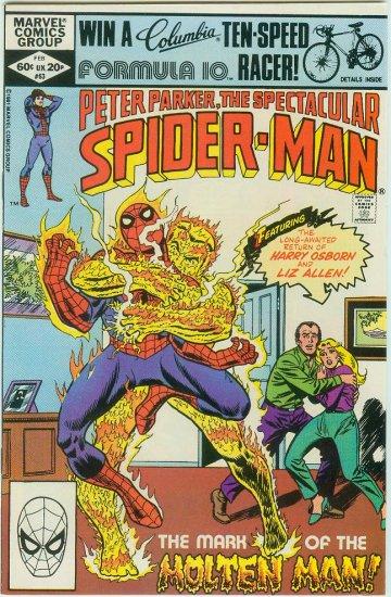 SPECTACULAR SPIDER-MAN #63 (1982)