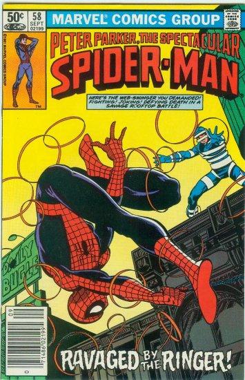 SPECTACULAR SPIDER-MAN #58 (1981)