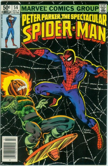 SPECTACULAR SPIDER-MAN #56 (1981)