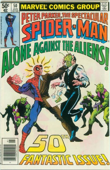 SPECTACULAR SPIDER-MAN #50 (1981)