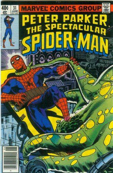 SPECTACULAR SPIDER-MAN #31 (1979) BRONZE AGE