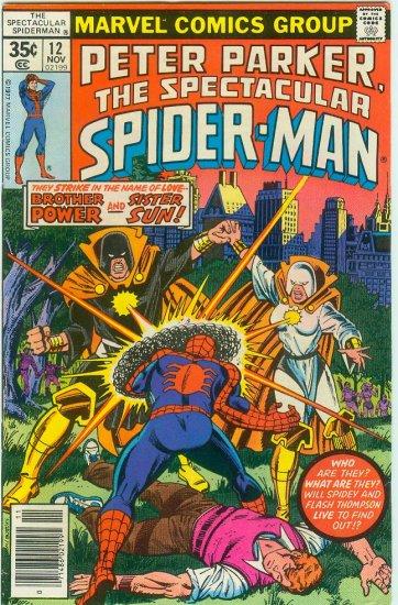 SPECTACULAR SPIDER-MAN #12 (1977) BRONZE AGE