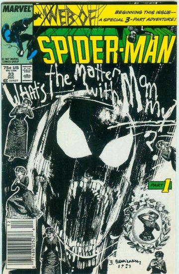 WEB OF SPIDER-MAN #33 (1987)