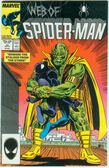 WEB OF SPIDER-MAN #25 (1987)
