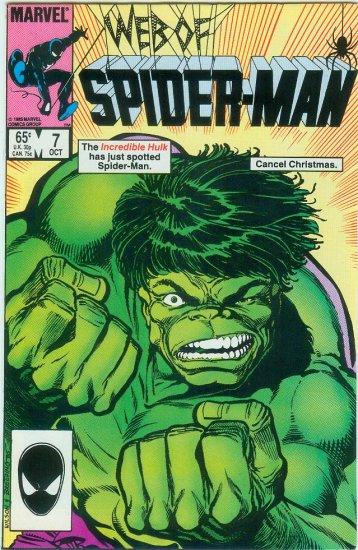 WEB OF SPIDER-MAN #7 (1985)