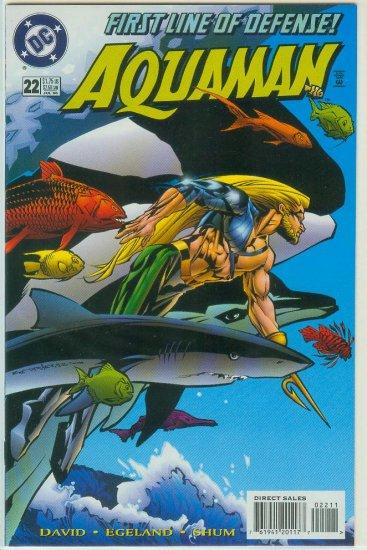 AQUAMAN #22 (1996)