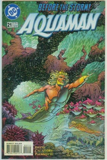 AQUAMAN #21 (1996)