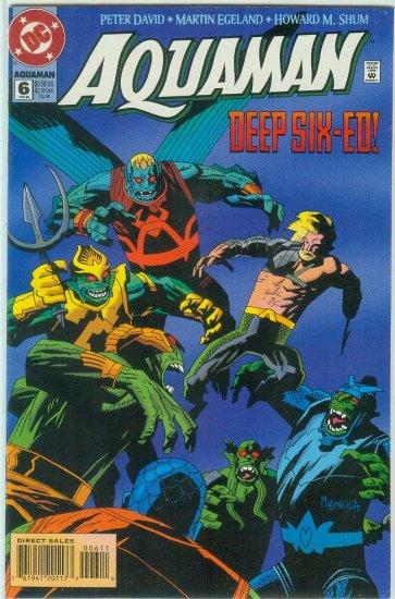 AQUAMAN #6 (1995)