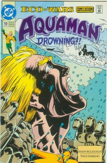 AQUAMAN #10 (1992) 2nd SERIES