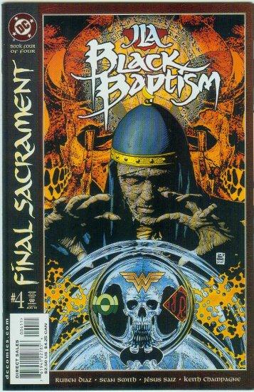 JLA BLACK BAPTISM #4 (2001)