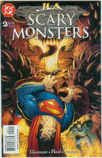 JLA SCARY MONSTERS #2 (2003)