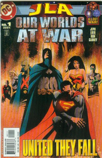 JLA OUR WORLDS AT WAR #1 (2001)