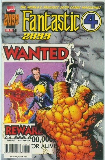 FANTASTIC FOUR 2099 #5 (1996)