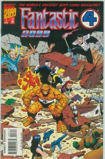 FANTASTIC FOUR 2099 #3 (1996)
