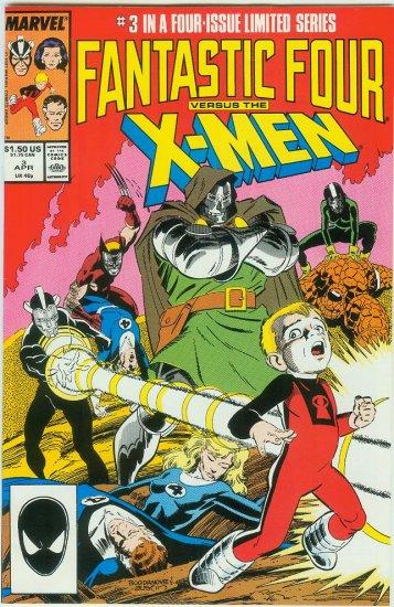 FANTASTIC FOUR VERSUS X-MEN #3 OF 4 (1987)