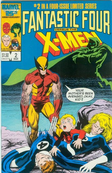 FANTASTIC FOUR VERSUS X-MEN #2 OF 4 (1987)