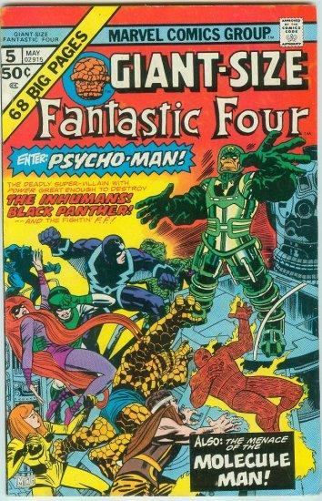 FANTASTIC FOUR GIANT SIZE #5 (1975) BRONZE AGE