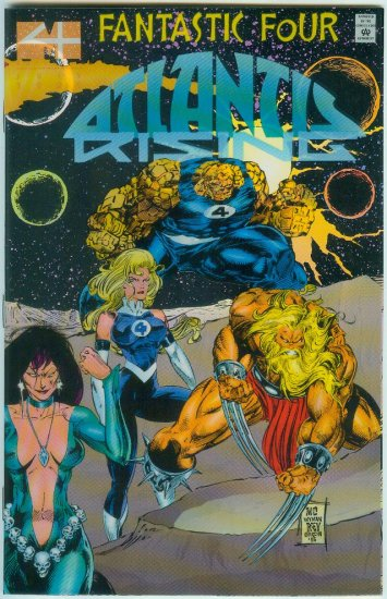 FANTASTIC FOUR ATLANTIS RISING #2 (1995)